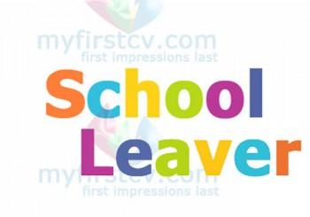 School Leaver CV