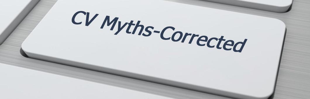 CV Myths Corrected